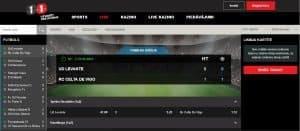 Live Sporta likmes online