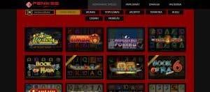 Feniksscasino tiešsaistes kazino spēles