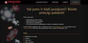 Feniksscasino tiešsaistes kazino tehniskais atbalsts