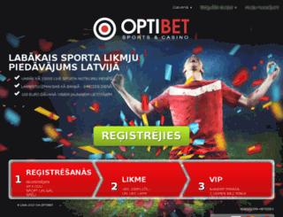 Access promo.optibet.lv. | Optibet akcijas