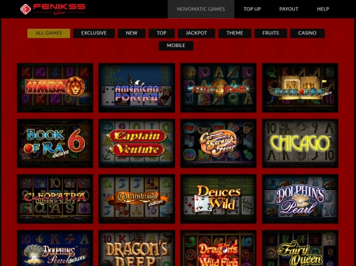 Fenikss Casino review, bonus, download - Casinoz.club