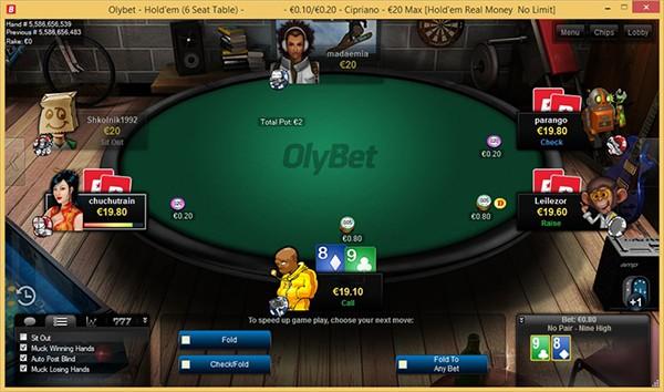 Olybet - vienīgā licencētā pokera istaba Latvijā – Pokers