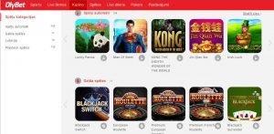Olybet.lv – Tiešsaistes kazino apraksts | Latvijas Kazino