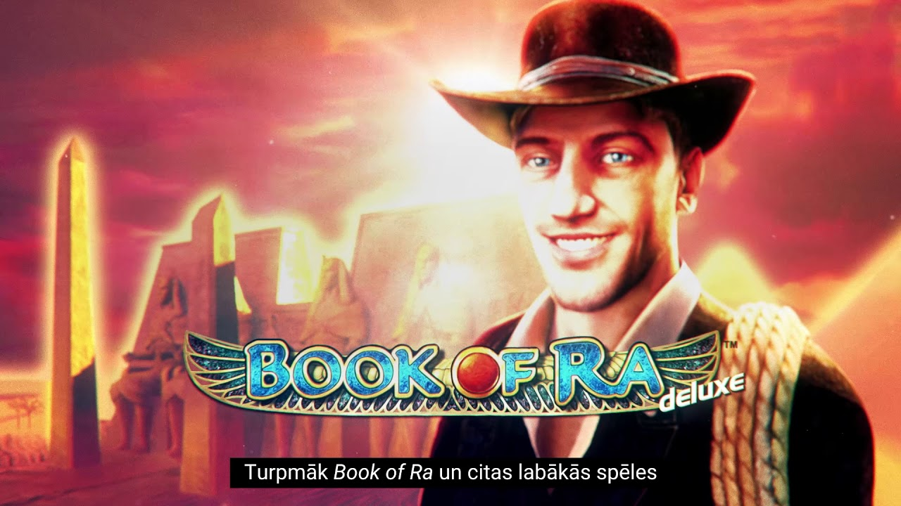 Spēlē 11.lv Book of Ra un citas populārākās kazino spēles! - YouTube