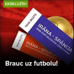 Brauc uz Pasaules Čempionātu futbolā Krievijā ar Optibet