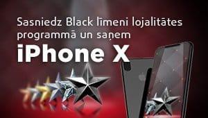 Esi lojāls 11.lv klients un saņem iPhone X