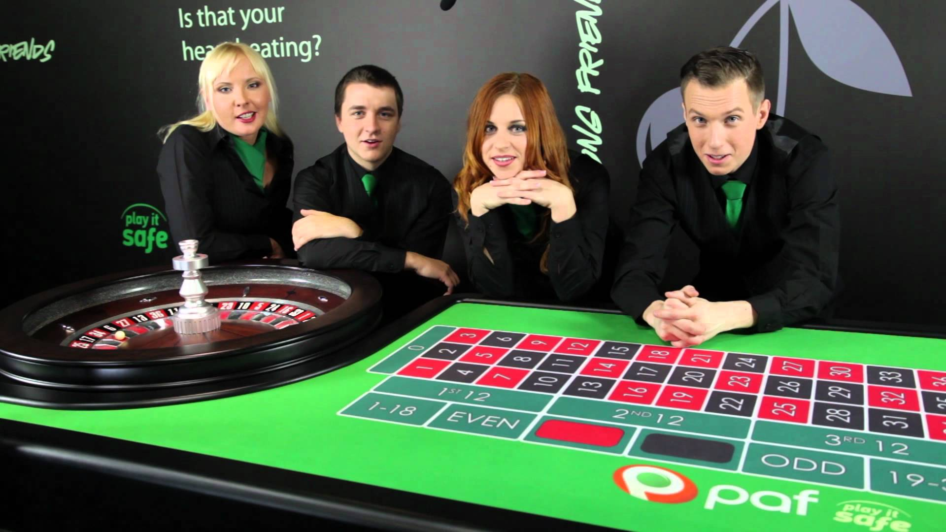 Meet the Paf Live Casino Dealers - YouTube