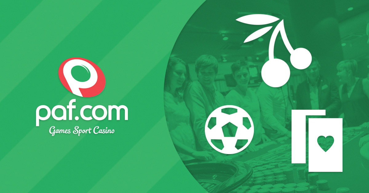 Paf.com – Online Casino with Slots, Bingo, Poker & Betting