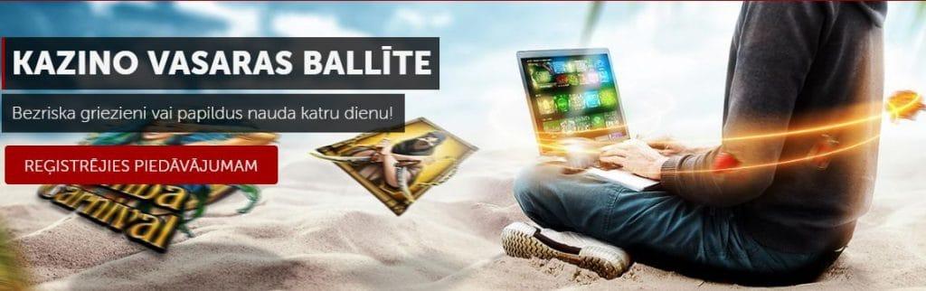 Betsafe pagarina vasaru par veselu mēnesi! Līdz pat 30.septembrim spēlē Betsafe kazino spēle un saņem bezriska griezienus vai papildus naudu.