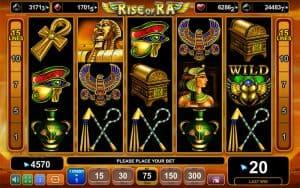 Rise of Ra spelu automati