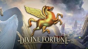 Divine Fortune dzekpot spele