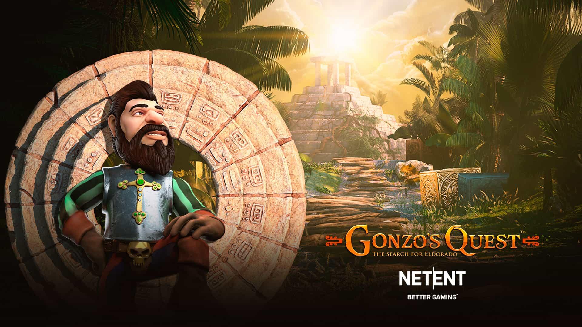 Gonzo's quest spele