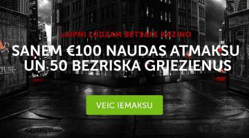 Ienāc, uzgriez, laimē! Labākais piedāvājums Betsafe spēlētājiem – 50 bezriska griezieni un €100 bonuss!